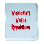 Voldemort Votes Republican baby blanket