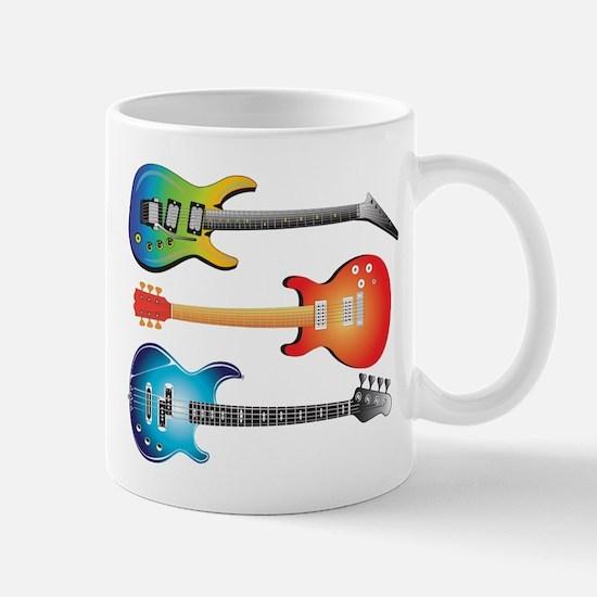 3 Electric Guitars Mug