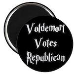 "Voldemort Votes Republican 2.25"" Magnet (100"