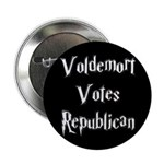 "Voldemort Votes Republican 2.25"" Button (100"