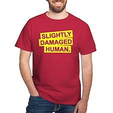 Damaged Human T-Shirt