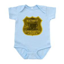 Machinist Caffeine Addiction Infant Bodysuit