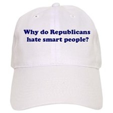 Why Hate Smart People? Baseball Cap