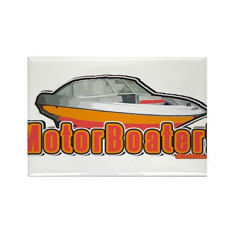 Motorboater Rectangle Magnet (10 pack)