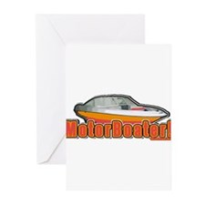 Motorboater Greeting Cards (Pk of 20)