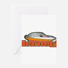 Motorboater Greeting Card