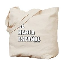 Español Tote Bag