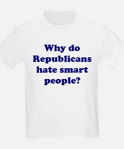 Why Hate Smart People? Kids T-Shirt