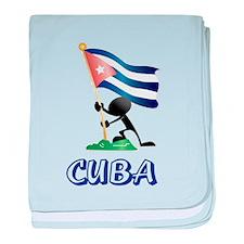 CUBA baby blanket