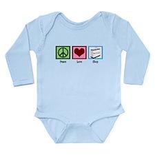 Peace Love Shop Long Sleeve Infant Bodysuit