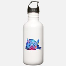French Bulldog Frenchies Water Bottle