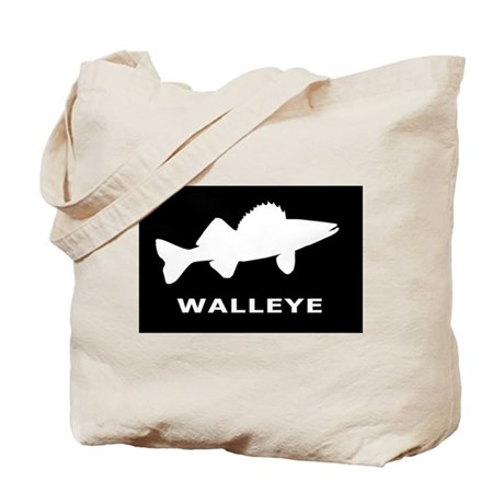 Walleye. Just Walleye Tote Bag