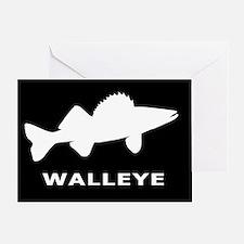 Walleye. Just Walleye Greeting Card