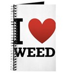 I Love Weed Journal