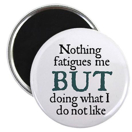 Jane Austen Fatigues Magnet