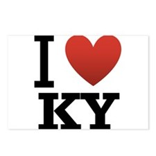 I Love KY Postcards (Package of 8)