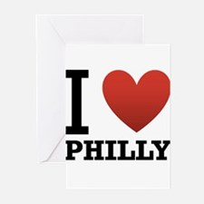 I Love Philly Greeting Cards (Pk of 10)