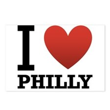 I Love Philly Postcards (Package of 8)