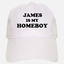 James Is My Homeboy Baseball Baseball Cap