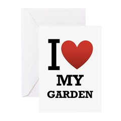 I <3 My Garden Greeting Cards (Pk of 10)
