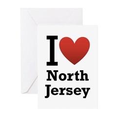I <3 North Jersey Greeting Cards (Pk of 10)