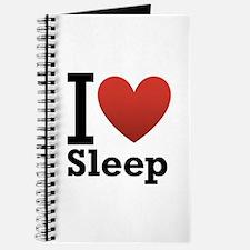 I Love Sleep Journal