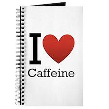 I Love Caffeine Journal