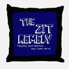 The Zit Remedy Throw Pillow