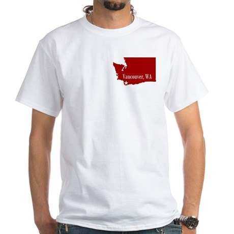 Vancouver [2-Sided] White T-Shirt