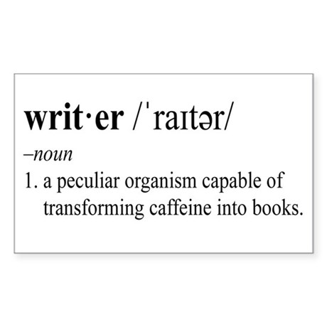 WRITER Sticker (Rectangle 10 pk)