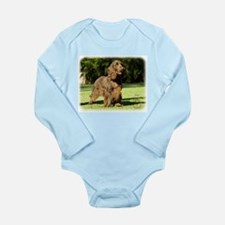 Field Spaniel 9P018D-046 Long Sleeve Infant Bodysu