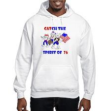 Cat-ch the Spirit of '76 Hoodie