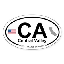 Central Valley Decal