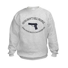 Guns Don't Kill People Sweatshirt