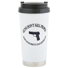 Guns Don't Kill People Travel Mug