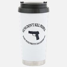 Guns Don't Kill People Travel Mug
