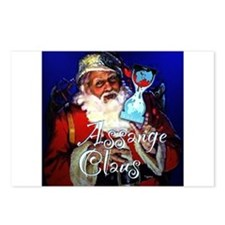 Assange Claus Postcards (Package of 8)