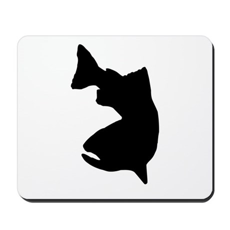 Simply Salmon Mousepad