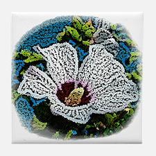 Rose of Sharon Tile Coaster
