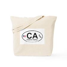 Castro Valley Tote Bag