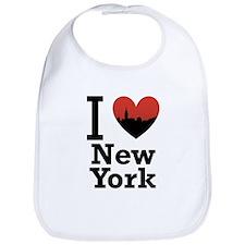 I love New York Bib