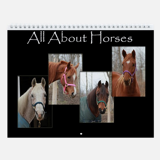 All About Horses Calendar
