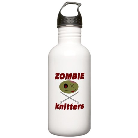 zombie knitter Stainless Water Bottle 1.0L