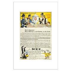 Swiss 1908 Pro-Absinthe Propaganda Posters
