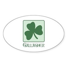 Gallagher Family Oval Decal