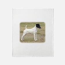 Fox Terrier 9P011D-093 Throw Blanket