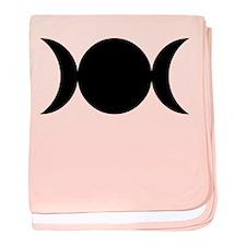 Tripple Moon Goddess baby blanket