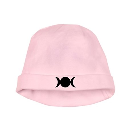 Tripple Moon Goddess baby hat