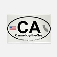 Carmel-by-the-Sea Rectangle Magnet