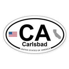 Carlsbad Decal